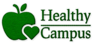 Educación Saludable | Healthy Campus Logo